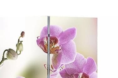 Foldeskærm Rumdeler 120 X 170 Blomstermotiv