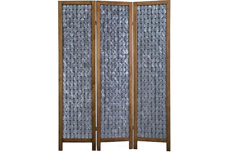 Foldevæg Brun - AG Home - Boligtilbehør - Små møbler - Rumdelere