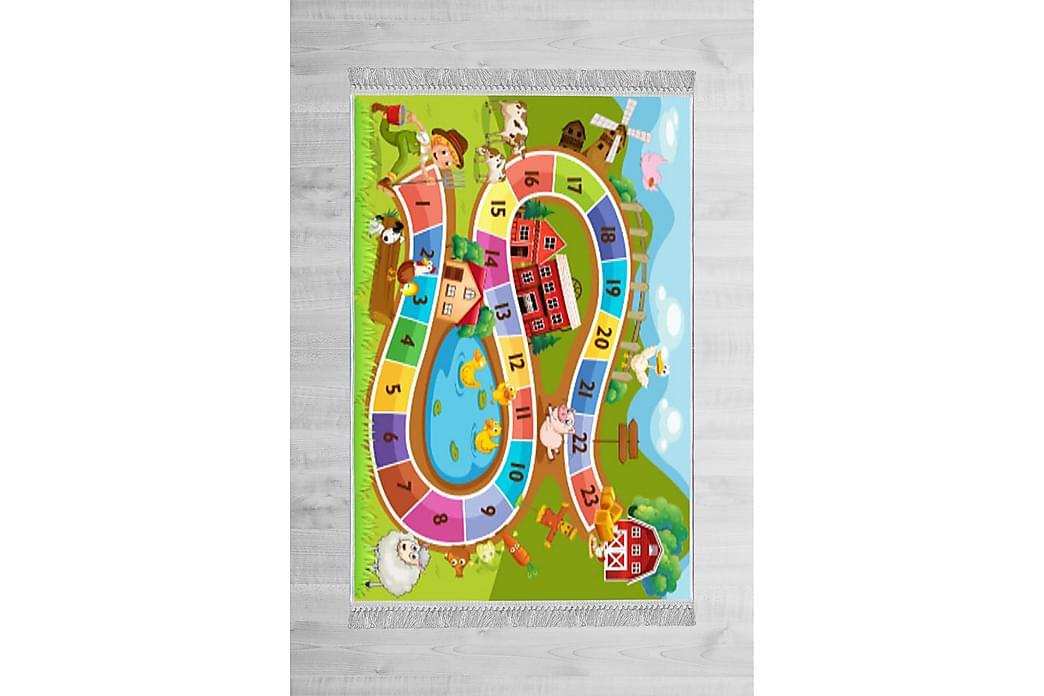 Cruelle børnetæppe 80x150 cm - Flerfarvet - Boligtilbehør - Tæpper - Børnetæpper