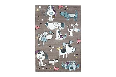 Doggy love 160x230 Gulvtæppe