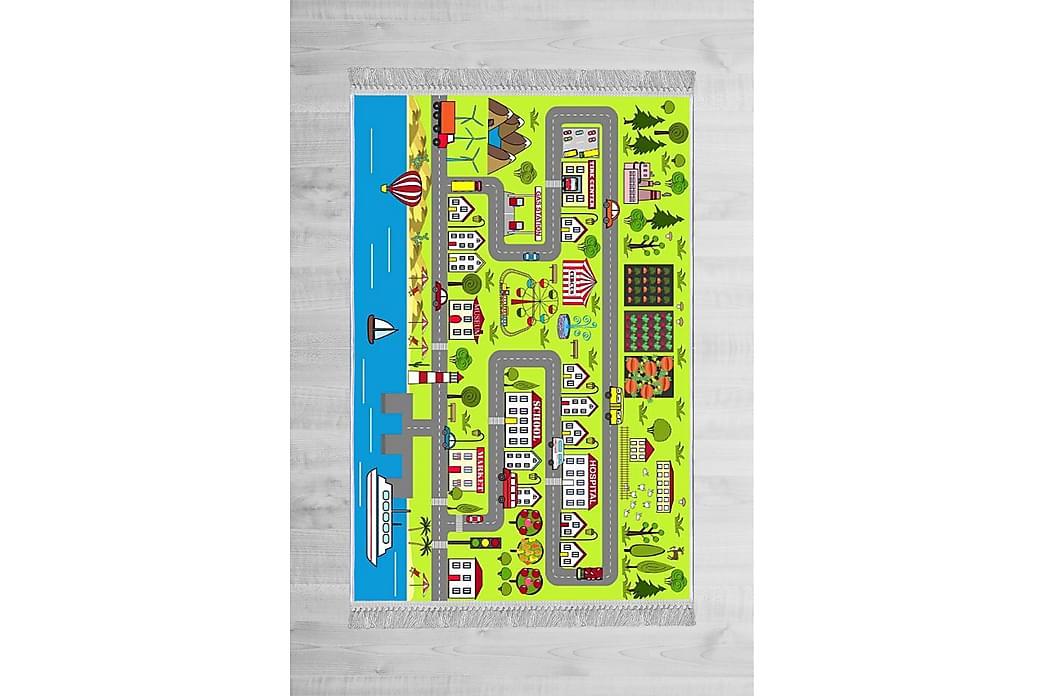 Holne børnetæppe 80x150 cm - Flerfarvet - Boligtilbehør - Tæpper - Børnetæpper