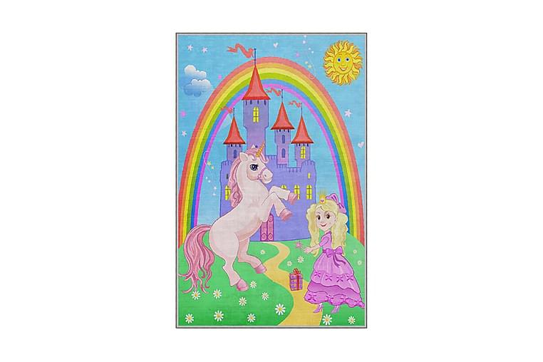 Kayahan Børnetæppe 100x150 cm - Flerfarvet - Boligtilbehør - Tæpper - Lejetæpper