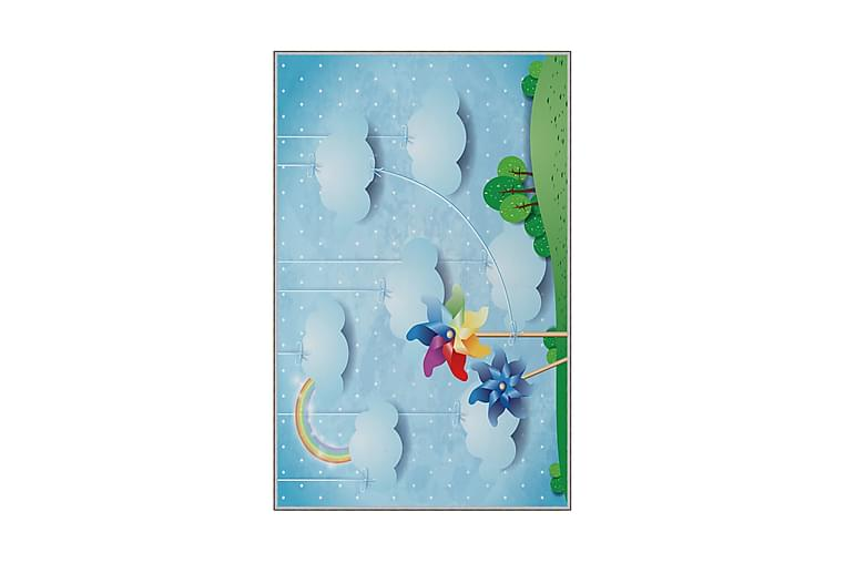 Tolunay Børnetæppe 140x220 cm - Flerfarvet - Boligtilbehør - Tæpper - Lejetæpper