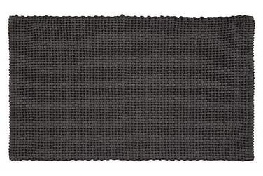 Basket Tæppe 100x60 Askegrå