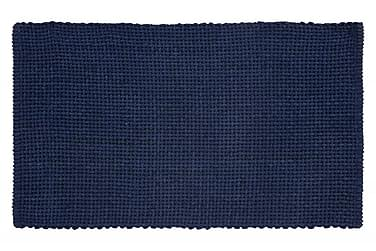 Basket Tæppe 100x60 Havsblå