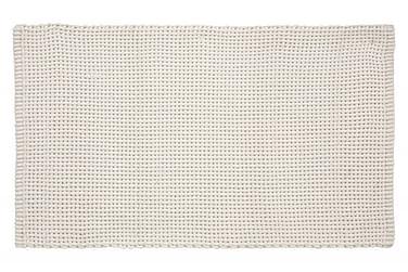Basket Tæppe 100x60 Hvid