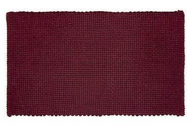 Basket Tæppe 100x60 Vinrød