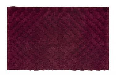 Dot Tæppe 100x60 Vinrød