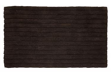Stripe Tæppe 100x60 Brun