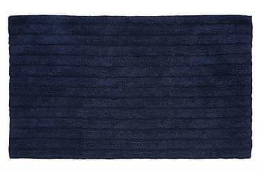Stripe Tæppe 100x60 Havsblå