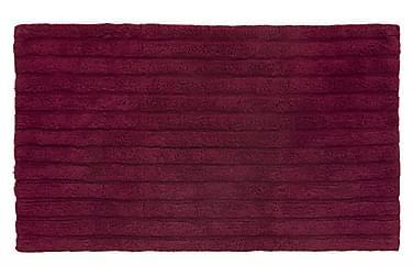 Stripe Tæppe 100x60 Vinrød