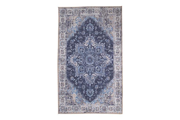 Penngrove tæppe 230x160 cm - Blå - Boligtilbehør - Tæpper - Bomuldstæpper