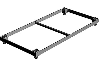 Cubic ramme til 40x80 cm eller to 40x40 cm Dørrist