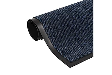 Måtte Med Støvkontrol Rektangulær Tuftet 80 X 120 Cm Blå