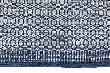 PADOVA Tæppe 250x70 Blå