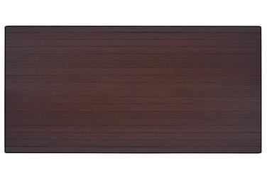 Stoleunderlag Bambus Brun 110X130 Cm