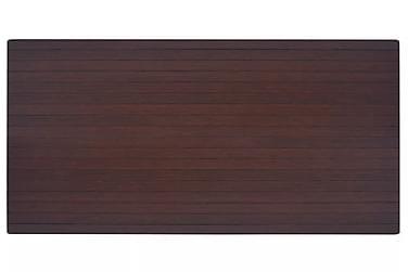 Stoleunderlag/Gulvbeskyttelse Bambus Brun 90X120 Cm