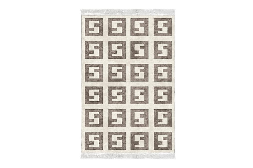 Alanur Home Tæppe 120x180 cm - Beige/Brun - Boligtilbehør - Tæpper - Mønstrede tæpper