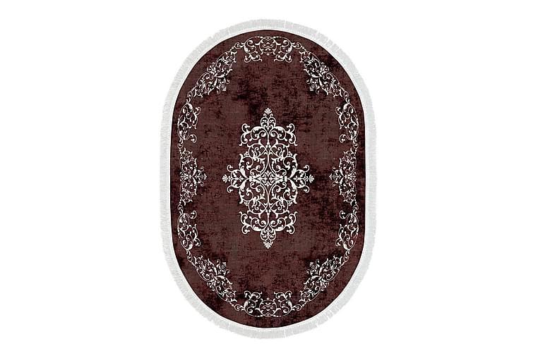 Alanur Home Tæppe 120x180 cm - Rød/Cremehvid - Boligtilbehør - Tæpper - Mønstrede tæpper