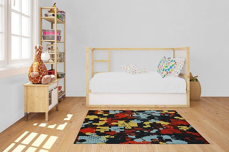 Beanon Tæppe 100x150 cm - Flerfarvet - Boligtilbehør - Tæpper - Mønstrede tæpper