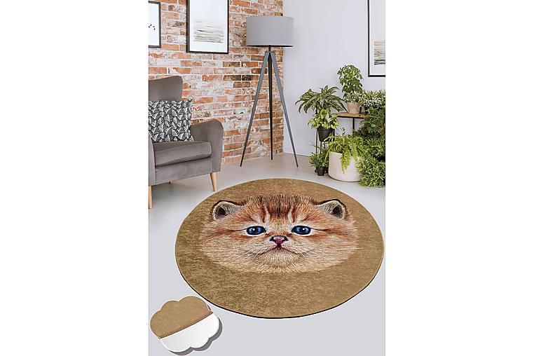 Chilai Tæppe 100 cm Rund - Multifarvet - Boligtilbehør - Tæpper - Mønstrede tæpper