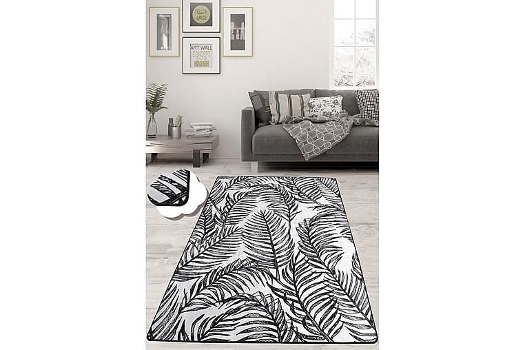 Chilai Tæppe 100x200 cm - Sort/Hvid - Boligtilbehør - Tæpper - Mønstrede tæpper