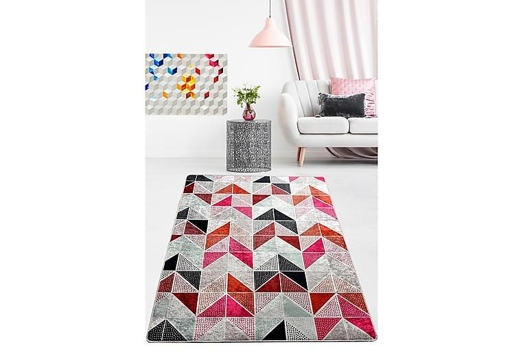 Chilai Tæppe 140x190 cm - Multifarvet - Boligtilbehør - Tæpper - Mønstrede tæpper
