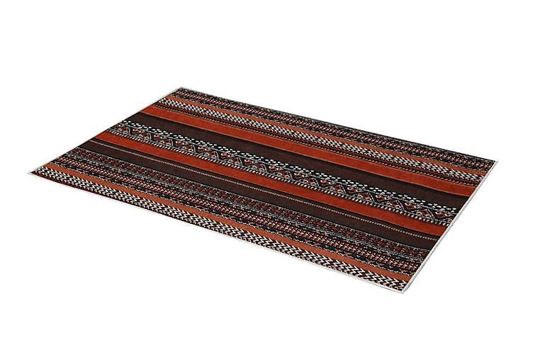 Emrallt Tæppe 100x200 cm - Flerfarvet - Boligtilbehør - Tæpper - Mønstrede tæpper