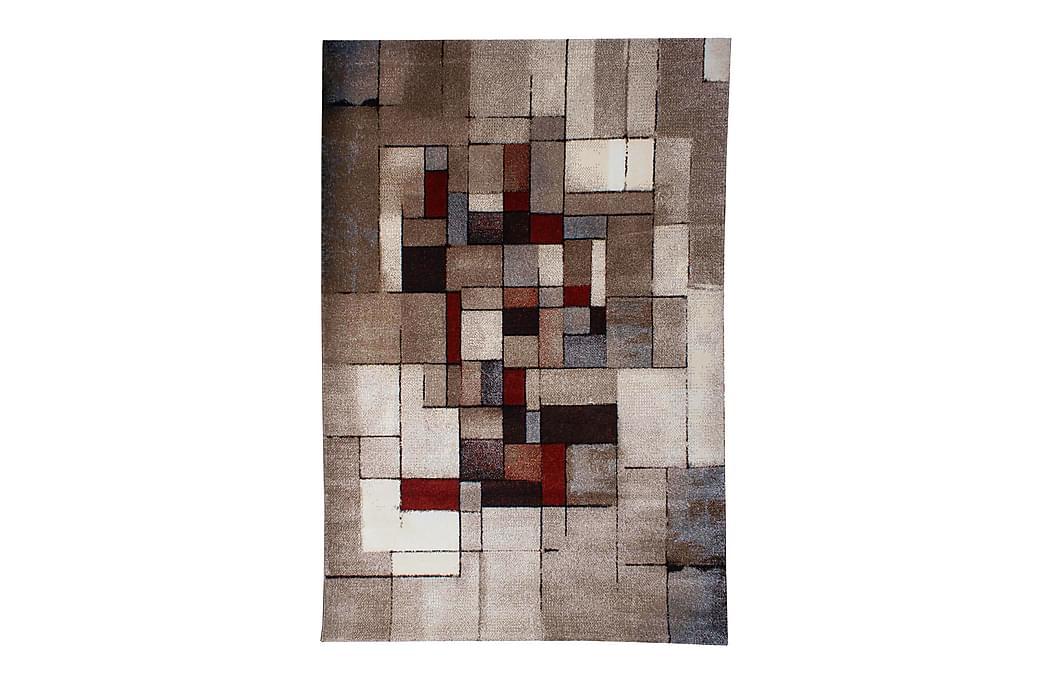 Friezetæppe London - 133x190 cm Multi - Boligtilbehør - Tæpper - Mønstrede tæpper