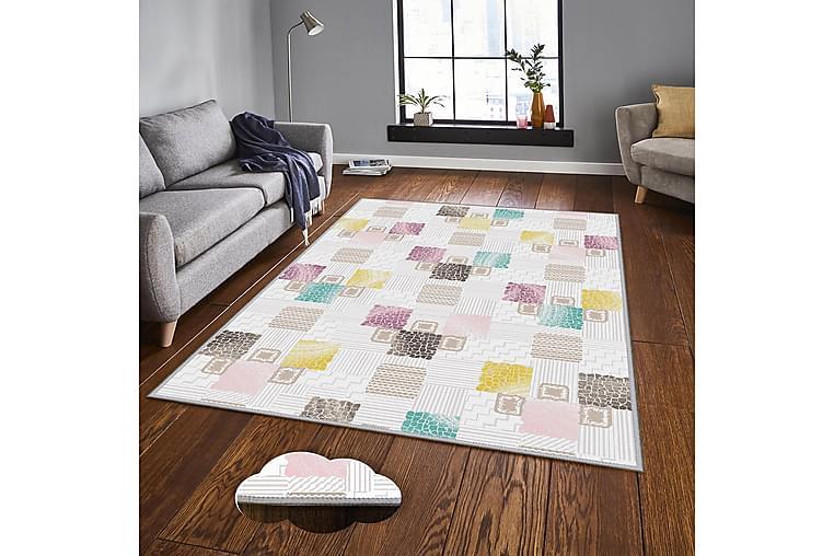 Homefesto 7 Tæppe 100x200 cm - Multifarvet - Boligtilbehør - Tæpper - Mønstrede tæpper