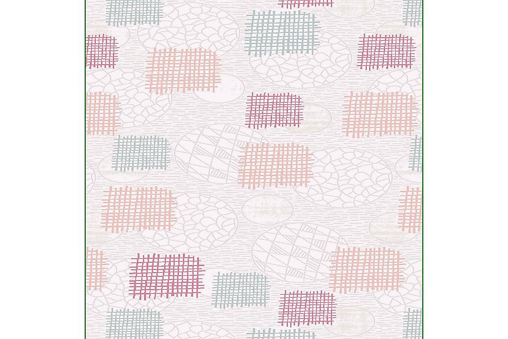 Homefesto Tæppe 120x180 cm - Multifarvet - Boligtilbehør - Tæpper - Mønstrede tæpper