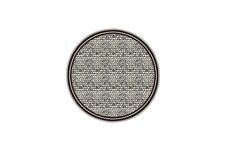 Homefesto Tæppe 80 cm Rund - Multifarvet - Boligtilbehør - Tæpper - Mønstrede tæpper