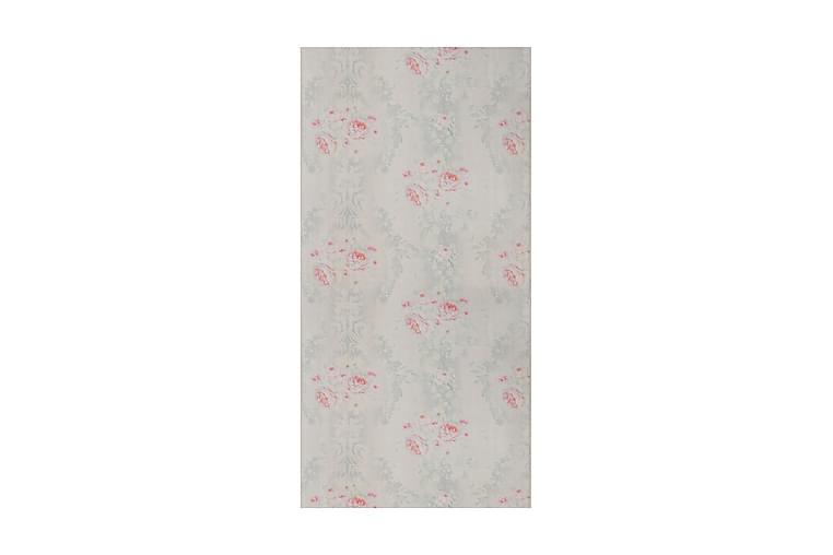 Roxberthe Tæppe 120x230 cm - Lyserød/Grøn/Hvid - Boligtilbehør - Tæpper - Mønstrede tæpper