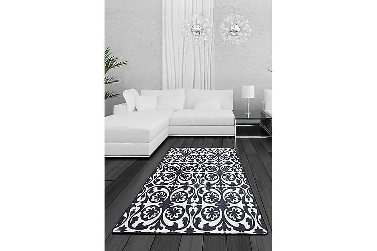 Sevval Tæppe 100x200 cm - Flerfarvet/Velour - Boligtilbehør - Tæpper - Mønstrede tæpper