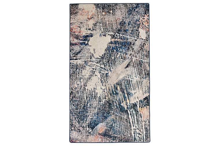 Tahsin Tæppe 140x190 cm - Flerfarvet/Velour - Boligtilbehør - Tæpper - Mønstrede tæpper