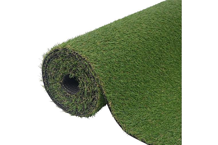 Kunstgræs 1,33x8 m/20 mm grøn - Grøn - Boligtilbehør - Tæpper - Nålefilt tæpper & kunstgræstæpper
