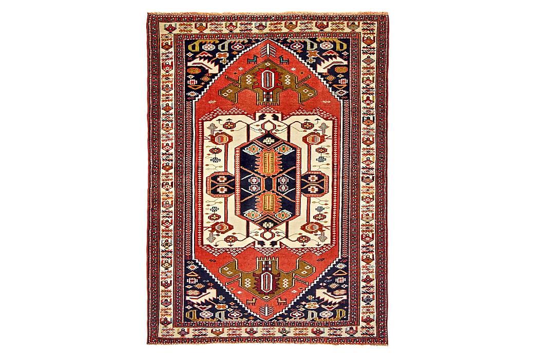 Håndknytten Exclusive persisk nåletæppe 100x183 cm Kelim - Kobber / Beige - Boligtilbehør - Tæpper - Orientalske tæpper