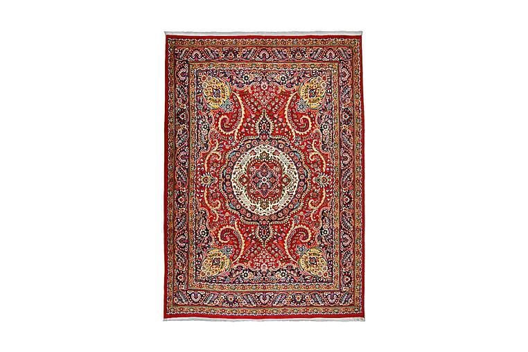 Håndknytten Persisk Patina tæppe 250x345 cm - Rød / mørkeblå - Boligtilbehør - Tæpper - Orientalske tæpper