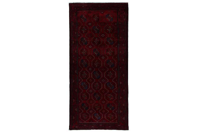 Håndknyttet persisk tæppe 120x270 cm - Rød - Boligtilbehør - Tæpper - Orientalske tæpper
