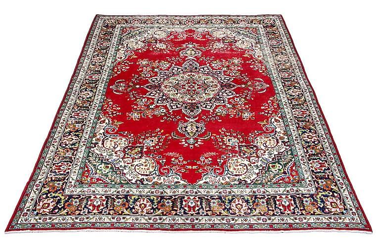 Håndknyttet persisk tæppe 242x335 cm Vintage - Rød / mørkeblå - Boligtilbehør - Tæpper - Orientalske tæpper