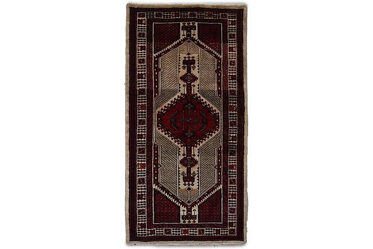 Håndknyttet persisk tæppe Varni 102x143 cm Kelim - Beige / rød - Boligtilbehør - Tæpper - Orientalske tæpper