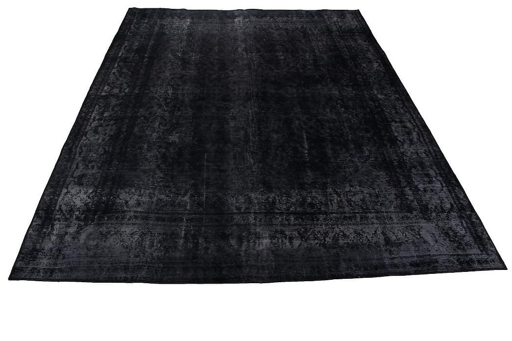 Håndknyttet persisk uldmåtte 277x368 cm Vintage - Grå - Boligtilbehør - Tæpper - Orientalske tæpper