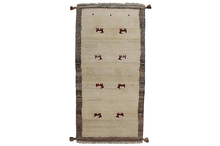 Håndknyttet Persisk Uldtæppe 98x148 cm Kelim - Beige - Boligtilbehør - Tæpper - Orientalske tæpper
