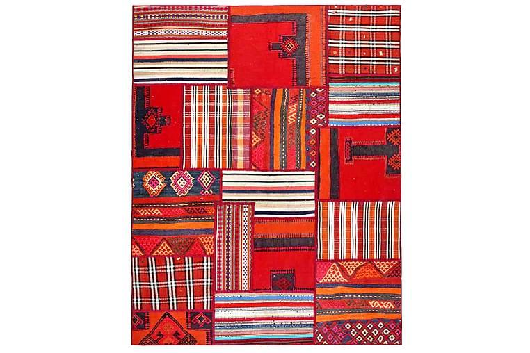 Håndknyttet Persisk lappetæppe 157x200 cm - Flerfarvet - Boligtilbehør - Tæpper - Patchwork tæppe