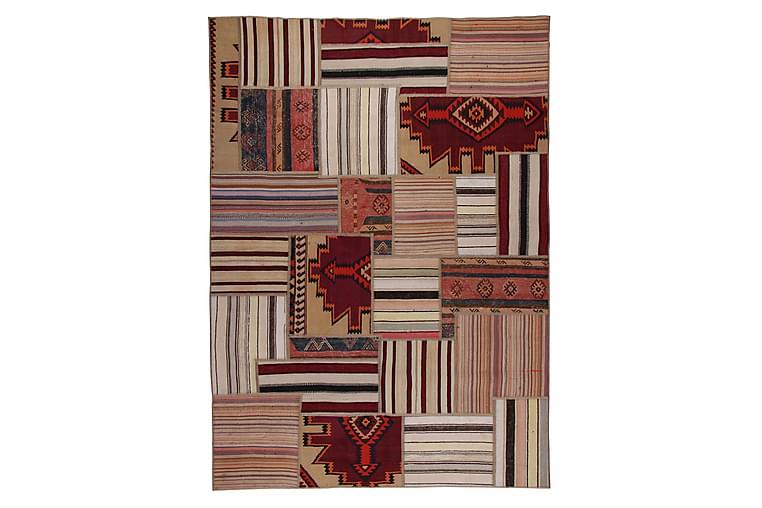 Håndknyttet Persisk tæppe 142x258 cm Kelim - Flerfarvet - Boligtilbehør - Tæpper - Patchwork tæppe