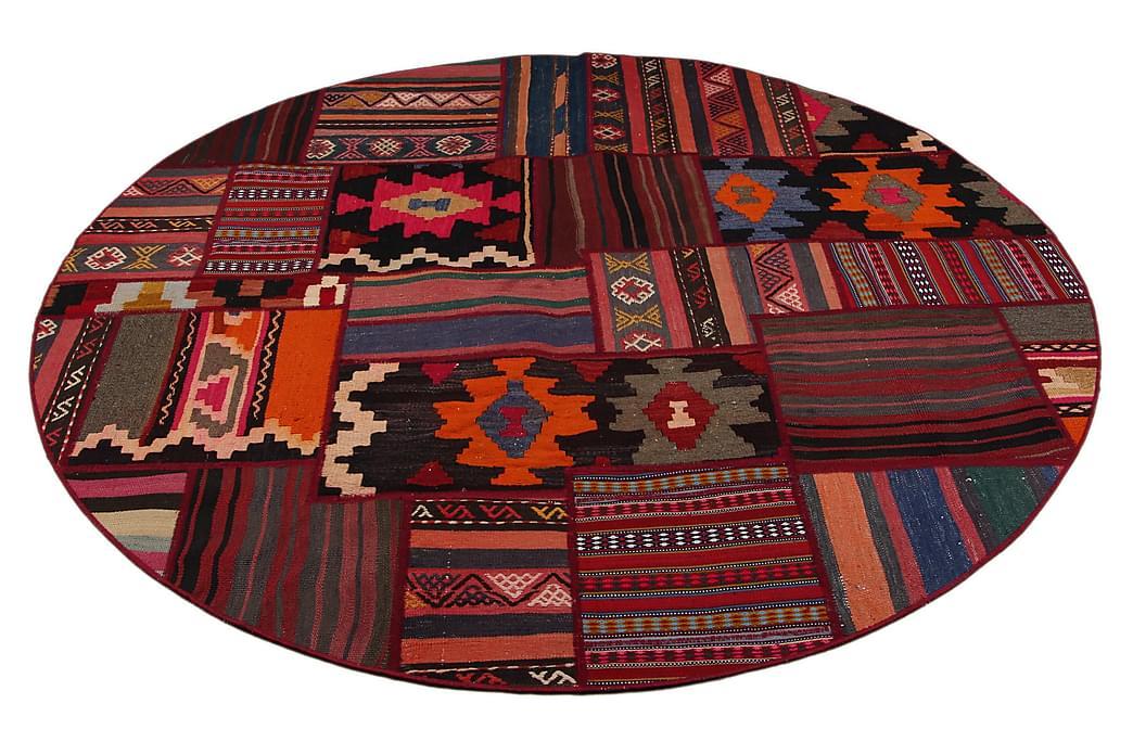 Håndknyttet Persisk tæppe 145x163 cm Kelim - Flerfarvet - Boligtilbehør - Tæpper - Patchwork tæppe