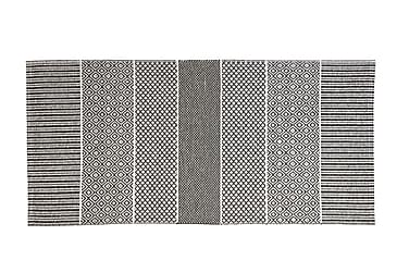 Alfie plastiktæppe 150x250 Vendbar PVC grå