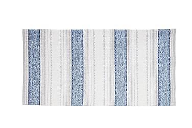 Anna tæppe Mix 70x260 PVC / bomuld / polyester blå