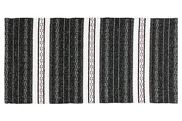 Asta Tæppe Mix 70x260 PVC / bomuld / polyester sort