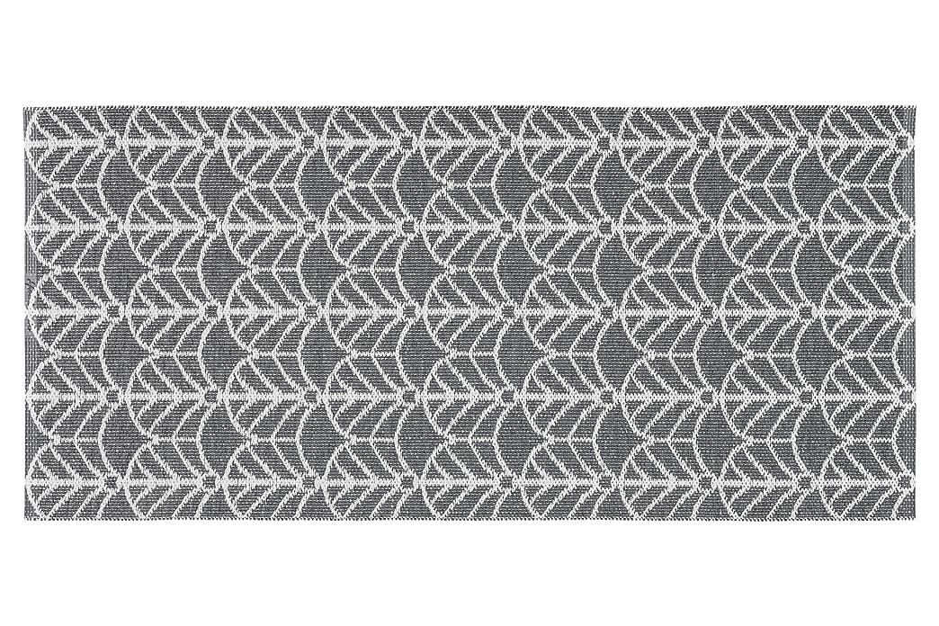 Deco plastiktæppe 200x300 Vendbar PVC grafit - Boligtilbehør - Tæpper - Plasttæpper
